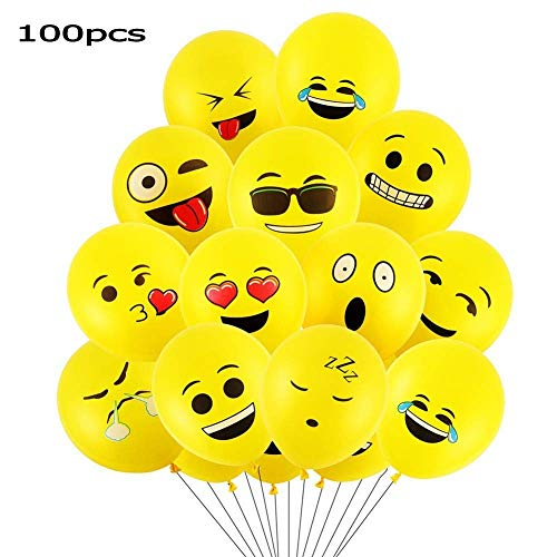 Goushy Ballon dexpression 100 Smiley Ballons Ballons en Late